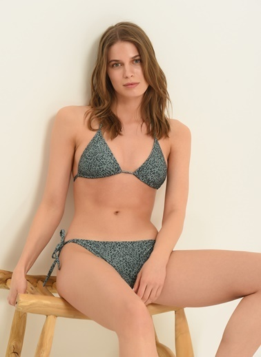 Morhipo Beach Kadın Üçgen Bikini MBKSS21BK0008 Yeşil